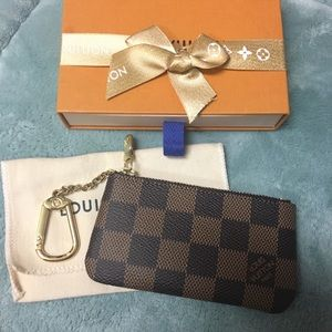Louis Vuitton Damier Ebene Cles Made in France